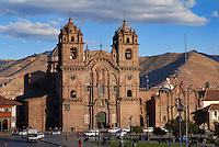 La Compania de Jesus on the Plaza de Armas/The Company of Jesus, Peru