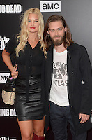 HOLLYWOOD, CA - OCTOBER 23: Jennifer Akerman and Tom Payne at AMC Presents Live, 90-Minute Special Edition of 'Talking Dead' at Hollywood Forever on October 23, 2016 in Hollywood, California. Credit: David Edwards/MediaPunch