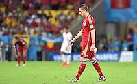 FUSSBALL WM 2014  VORRUNDE    Gruppe B     Spanien - Chile                           18.06.2014 Fernando Torres (Spanien) ist nach dem Abpfiff enttaeuscht