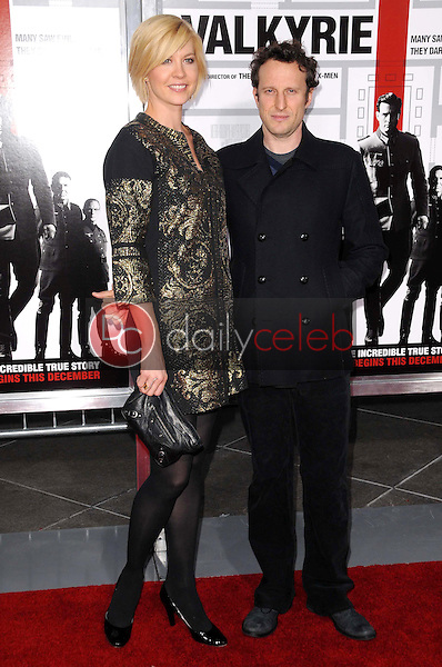 Jenna Elfman and Bodhi Elfman <br /> at the Los Angeles Premiere of 'Valkyrie'. The Directors Guild of America, Los Angeles, CA. 12-18-08<br /> Dave Edwards/DailyCeleb.com 818-249-4998