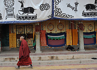 China Monks and Temples