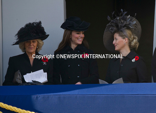 """CATHERINE, DUCHESS OF CAMBRIDGE TO ATTENDS 1ST REMEMBRANCE SERVICE.Kate's attended her 1st Remembrance Service with members of the Royal Family at the Cenotaph, London_13th November 2011.©FRANCIS DIAS - NEWSPIX INTERNATIONAL..Mandatory credit photo:NEWSPIX INTERNATIONAL(Failure to credit will incur a surcharge of 100% of reproduction fees)..**ALL FEES PAYABLE TO: """"NEWSPIX  INTERNATIONAL""""**..Newspix International, 31 Chinnery Hill, Bishop's Stortford, ENGLAND CM23 3PS.Tel:+441279 324672.Fax: +441279656877.Mobile:  07775681153.e-mail: info@newspixinternational.co.uk"""