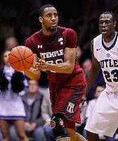 INDIANAPOLIS, IN - JANUARY 26: Rahlir Hollis-Jefferson #32 of the Temple Owls is seen during the game against the Butler Bulldogs at Hinkle Fieldhouse on January 26, 2013 in Indianapolis, Indiana. (Photo by Michael Hickey/Getty Images) *** Local Caption *** Rahlir Hollis-Jefferson