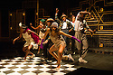 London, UK. 23.10.2014. A HARLEM DREAM choreographed by Ivan Blackstock, opens in the Maria, at the Young Vic. Picture shows: The company (Chris Arias, Ivan Blackstock, Darren Charles, Kiel Ewen, Shannelle 'Tali' Fergus, Robia Milliner Brown, L'atisse Rhoden, Rhea T-W, Chaldon Williams). Photograph © Jane Hobson.