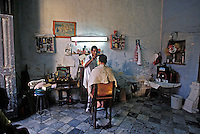 Old Havana Cuba, Barbershop, Republic of Cuba,