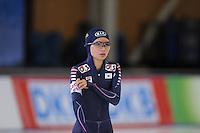 SCHAATSEN: BERLIJN: Sportforum, 06-12-2013, Essent ISU World Cup, 500m Ladies Division B, Seung-Ju Park (KOR), ©foto Martin de Jong