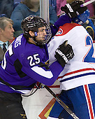 Eriah Hayes (Mankato - 25), Ryan Blair (Lowell - 26) - The visiting Minnesota State University-Mankato Mavericks defeated the University of Massachusetts-Lowell River Hawks 3-2 on Saturday, November 27, 2010, at Tsongas Arena in Lowell, Massachusetts.
