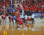 Ole Miss guard Chris Warren (12)  dribbles against Kentucky's Brandon Knight (12) at the C.M. &quot;Tad&quot; Smith Coliseum in Oxford, Miss. on Tuesday, February 1, 2011. Ole Miss won 71-69.