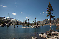 """Lake Aloha 7"" - Photograph Lake Aloha in the Tahoe Desolation Wilderness."