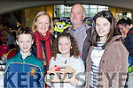 Rory, Margaret, Lainey, Roger and Ava Harty at the Killarney Outlet Centre craft sale on Sunday