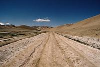 The road between Yakawlang an Pandjab. Hazarajat, Afghanistan.