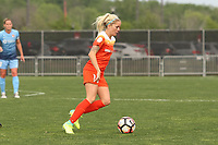 Piscataway, NJ - Saturday May 20, 2017: Denise O'Sullivan during a regular season National Women's Soccer League (NWSL) match between Sky Blue FC and the Houston Dash at Yurcak Field.  Sky Blue defeated Houston, 2-1.