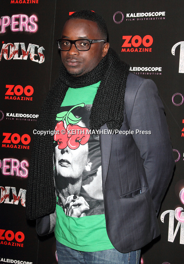 London - World Premiere of 'Strippers vs Werewolves' at the Apollo Cinema, Regent Street, London - April 24th 2012..Photo by Keith Mayhew