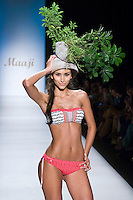 A Model present a  collection of underwear 2012 from Maaji gangplank, in Colombiamoda 2012 in Medellin, Colombia. 26/07/2012. Photo by Fredy Amariles/VIEWpress.