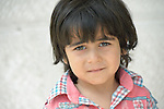 In Amman, Jordan, 4-year old Baha is a refugee from Damascus, Syria. His family has received support International Orthodox Christian Charities, a member of the ACT Alliance. <br />  <br /> Parental consent obtained.