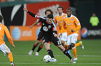 D.C. United forward Chris Pontius (13) D.C. United defeated The Houston Dynamo 3-2 at RFK Stadium, Saturday April 28, 2012.