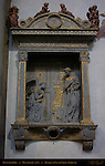 Annunciation Donatello 1435 Santa Croce Florence