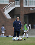 Virginia assistant coach Richie Williams on Sunday, November 27th, 2005 at Fetzer Field in Chapel Hill, North Carolina. The University of North Carolina Tarheels defeated the University of Virginia Cavaliers 2-1 in a NCAA Men's Soccer Tournament Round of 16 game.