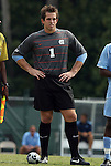 06 September 2009: UNC's Brooks Haggerty. The University of North Carolina Tar Heels defeated the Evansville University Purple Aces 4-0 at Fetzer Field in Chapel Hill, North Carolina in an NCAA Division I Men's college soccer game.