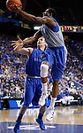 UK freshman Michael Kidd-Gilchrist goes up for a layup during the first half of the UK Blue-White Scrimmage at Rupp Arena in Lexington, Ky., Oct. 26, 2011. Photo by Brandon Goodwin | Staff