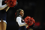 Ole Miss cheerleaders vs. Florida in the SEC championship game at Bridgestone Arena in Nashville, Tenn. on Sunday, March 17, 2013.