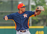 20 March 2015: Houston Astros infielder Carlos Correa in Spring Training action against the Washington Nationals at Osceola County Stadium in Kissimmee, Florida. The Astros fell to the Nationals 7-5 in Grapefruit League play. Mandatory Credit: Ed Wolfstein Photo *** RAW (NEF) Image File Available ***