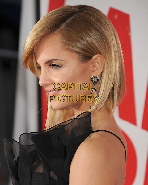 Mena Suvari.The L.A. Premiere of 'American Reunion' held at The Grauman's Chinese Theatre in Hollywood, California, USA..March 19th, 2012.headshot portrait black one shoulder tulle profile .CAP/ROT/TM.©Tony Michaels/Roth Stock/Capital Pictures