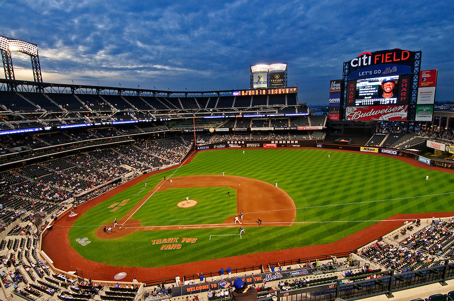Citi Field a stadium completed in 2009, baseball park of New York Mets, designed by Populous, Queens, New York City, New York, USA