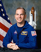 "Houston, TX - (FILE) -- Photo dated March 15, 1995 of Astronaut Frederick W. (Rick) Sturckow, commander, STS-128.  Commander Rick Sturckow will lead the STS-128 mission to the International Space Station aboard space shuttle Discovery with Kevin Ford serving as pilot.  It is scheduled for launch on August 25, 2009.  Also serving aboard Discovery are mission specialists Patrick Forrester, José Hernández, John ""Danny"" Olivas, Christer Fuglesang and Nicole Stott. .Stott will remain on the station as an Expedition 20 flight engineer replacing Timothy Kopra. Kopra will return home aboard Discovery as a mission specialist.  Discovery is carrying the Leonardo Multi-Purpose Logistics Module containing life support racks and science racks. The Lightweight Multi-Purpose Experiment Support Structure Carrier will also be launched in Discovery's payload bay.  This is Discovery's 37th mission to space and the 30th mission of a space shuttle dedicated to the assembly and maintenance of the International Space Station. .Credit: NASA via CNP"