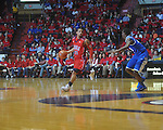 Ole Miss guard Trevor Gaskins (23) at the C.M. &quot;Tad&quot; Smith Coliseum in Oxford, Miss. on Tuesday, February 1, 2011. Ole Miss won 71-69.