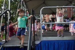 09/25/2011 - Medford/Somerville, MA - Children play onstage during Tufts Community Day on Sunday, September 25, 2011. (Jodi Hilton for Tufts University)