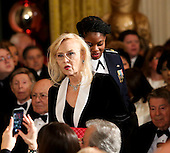 Actress Faye Dunaway arrives at an event for the 2016 Kennedy Center Honorees, in the East Room of the White House, December 4, 2016. The 2016 honorees are: Argentine pianist Martha Argerich; rock band the Eagles; screen and stage actor Al Pacino; gospel and blues singer Mavis Staples; and musician James Taylor.<br /> Credit: Aude Guerrucci / Pool via CNP