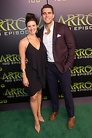 VANCOUVER, BC - OCTOBER 22: Brace Rice and Josh Segarra at the 100th episode celebration for tv's Arrow at the Fairmont Pacific Rim Hotel in Vancouver, British Columbia on October 22, 2016. Credit: Michael Sean Lee/MediaPunch