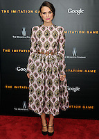 """New York Premiere Of The Weinstein Company's """"The Imitation Game"""""""