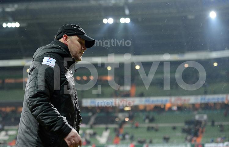 FUSSBALL   1. BUNDESLIGA   SAISON 2012/2013    20. SPIELTAG SV Werder Bremen - Hannover 96                           01.02.2013 Trainer Thomas Schaaf (SV Werder Bremen)