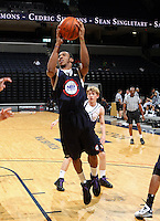 Marquis Rankin at the NBPA Top100 camp June 17, 2010 at the John Paul Jones Arena in Charlottesville, VA. Visit www.nbpatop100.blogspot.com for more photos. (Photo © Andrew Shurtleff)