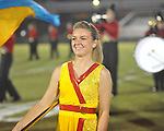 Lafayette High band member Erica Brown vs. Shannon in Oxford, Miss. on Friday, September 14, 2012. Lafayette won 44-25 over Shannon to improve to 4-1.