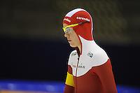 SCHAATSEN: HEERENVEEN: 20-12-2014, IJsstadion Thialf, Trainingswedstrijd schaatsen, Marrit Leenstra, ©foto Martin de Jong