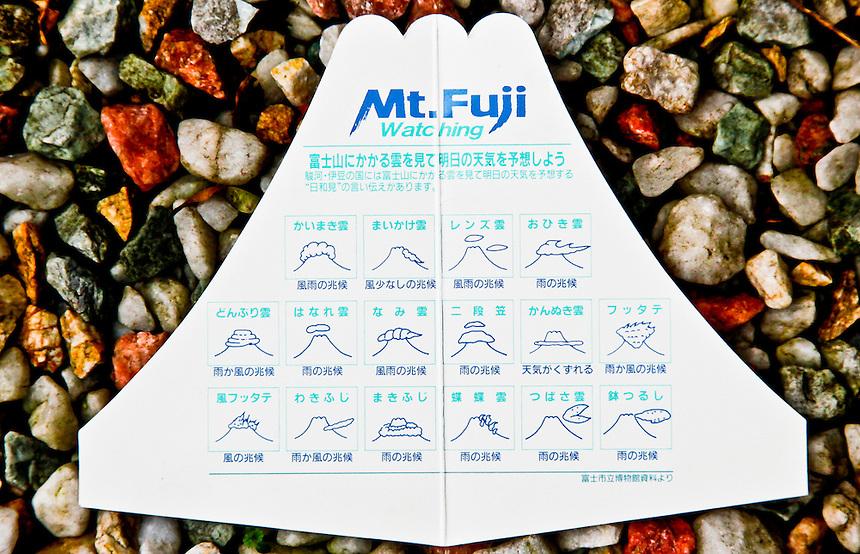 Mount Fuji cloud formation guide.
