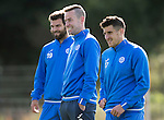 St Johnstone Training&hellip;.30.09.16<br />Streven MacLean pictured during training this morning with Richie Foster and Michael Coulsoin<br />Picture by Graeme Hart.<br />Copyright Perthshire Picture Agency<br />Tel: 01738 623350  Mobile: 07990 594431