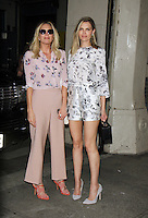 NEW YORK, NY-June 29: Sara Foster, Erin Foster at AOL BUILD to talk about new season of Barely Famous VH1 in New York. NY June 29, 2016. Credit:RW/MediaPunch