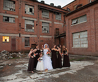 The Old Sugar Mill in Clarksburg, California is a fun place to get married and to take wedding photos.