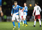 St Johnstone v Rangers&hellip;28.12.16     McDiarmid Park    SPFL<br />David Wotherspoon<br />Picture by Graeme Hart.<br />Copyright Perthshire Picture Agency<br />Tel: 01738 623350  Mobile: 07990 594431