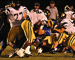 Oxford High's Robert Farris (27) vs. New Hope in high school football in Oxford, Miss. on Friday, September 28, 2012. Oxford won 29-17 to improve to 6-0.