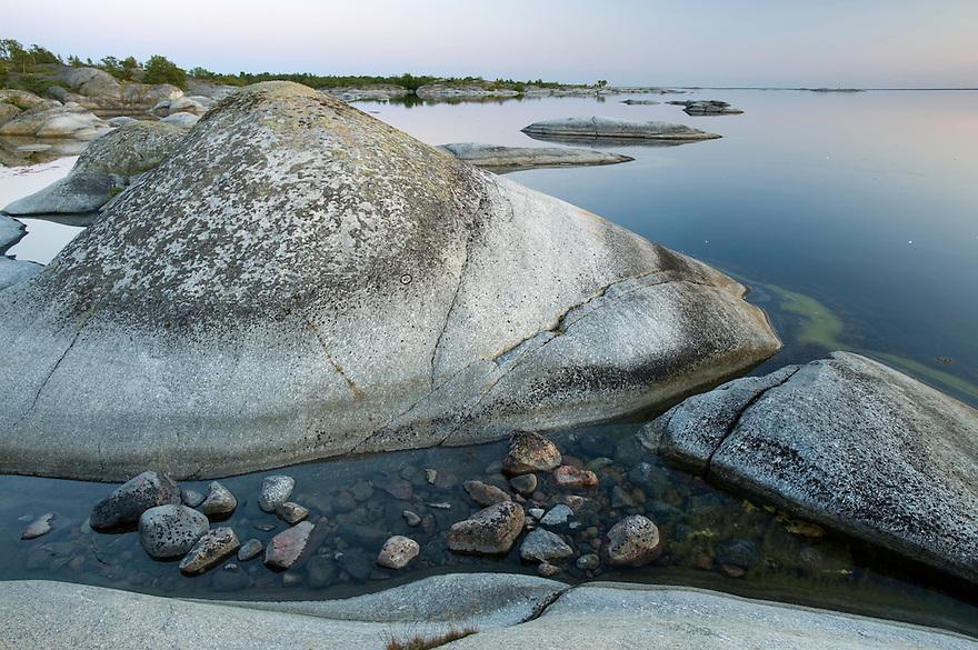 Coastal landscape in Kallsk&auml;r.<br /> Stockholm Archipelago, Sweden