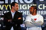 April 23, 2009: Wladimir Klitschko vs David Haye Press Conference