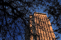 TALLAHASSEE, FL. 1/21/04-The Capitol catches the last bit of sun at the close of a January day  in Tallahassee. COLIN HACKLEY PHOTO