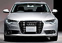 Audi Japan launches revamped A6, aiming to boost market share in Japan, at a press conference in Tokyo, Japan, on August 23, 2011. (Photo by AFLO)