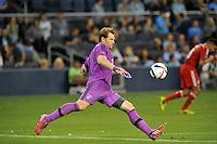Kansas City, KS. - May 29, 2015:<br /> Sporting Kansas City defeated FC Dallas 4-0 in an MLS game at Sporting Park.