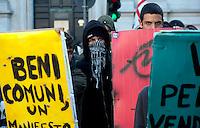 Studenti contro il 'governo dei sacrifici'
